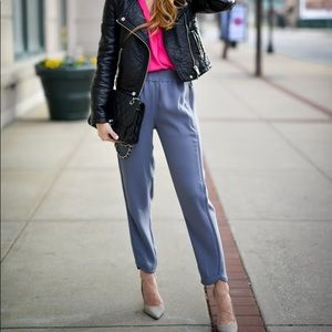 J Crew Reese pants pull on with elastic waistband